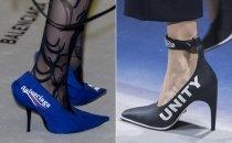 Модная обувь 2018. Какая она?