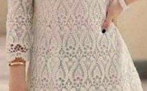 Подскажите по схеме платья вязанного крючком