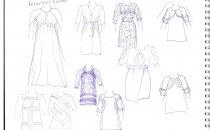 Можно ли шить для девочек платья по взрослым эскизам?